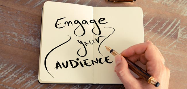 How can you check out the engagement rate