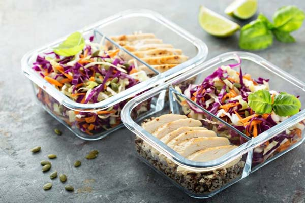 Advance planning of your meals