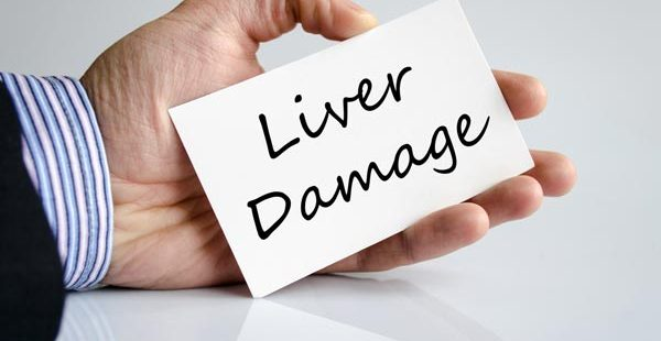 What are the early signs of liver damage