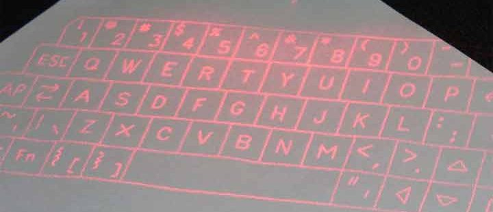 What are the Benefits of Using a Laser Keyboard?