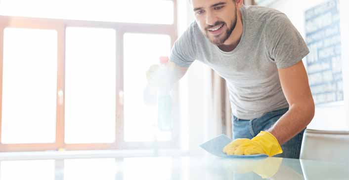 How to Make Cleaning Your Apartment Awesome