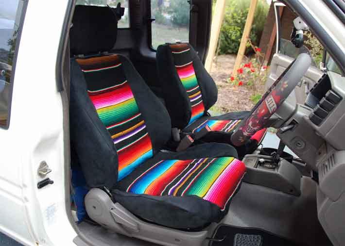 Even More Free Car Seat Cover Tutorials